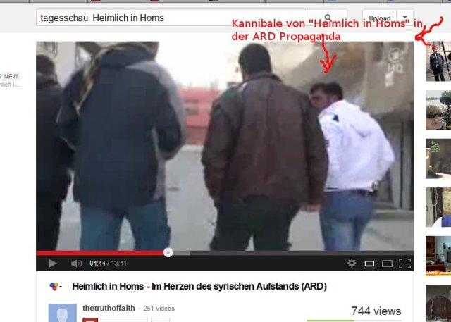 Der Kannibale von Homs, die farouk-Henker-Brigade mit dem Youtube -Pornostar Abdel Rasaq Tlass...