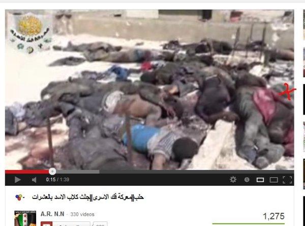Massakriert. Sie hatten sich ergeben und waren unbewaffnet