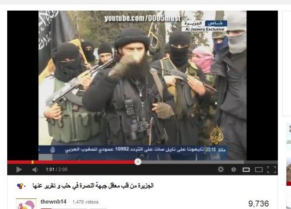 Aljazeera, der katarische al-Kaida-Sender mit der Nusra-Front von Aleppo
