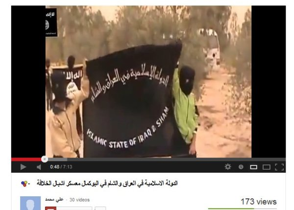"Al-Kaidas Kindererziehung der  ""Islamic state of Irak and  Sham"""