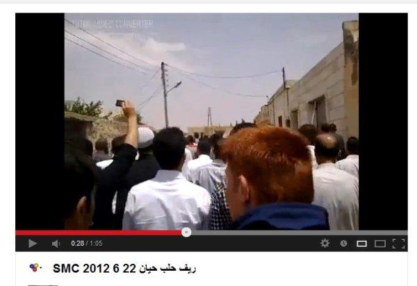 Hayyan 2012, die gleiche Körperhaltung wie aus dem Mordvideo