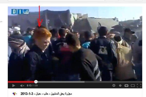 Ein munitonslager getroffen, die Propaganda lautete Scud-Raketen. Es waren auch kinder unter den Trümmern und viele Bewaffnete in dem Video bei der Bergung.
