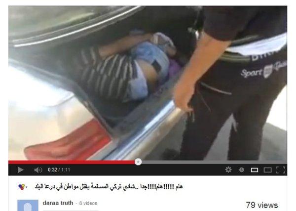 Einer der Täter fingert lange am schloss herum, nicht sein Auto? Das Opfer liegt im Kofferraum verschnürrt