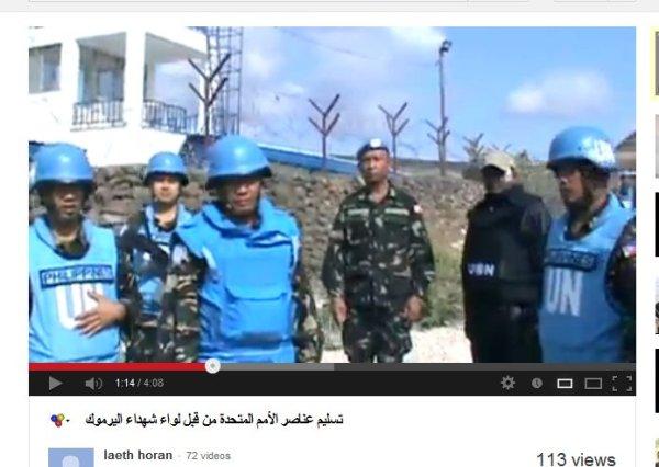 Obdachlose UN-peacekeeper, verletzt aber am leben, was man von andren Opfern dieser Terroristenbanden nicht behaupten kann