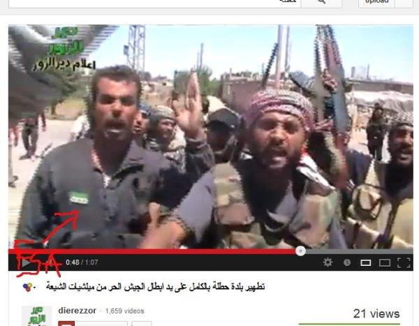 Rache für qusair, das haupzmotiv für den genozid an einwohnern von Hatlah