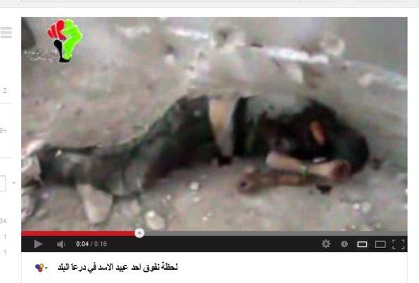 Sterbend unter dem Gebrüll der Mörder, welche Allah lästern