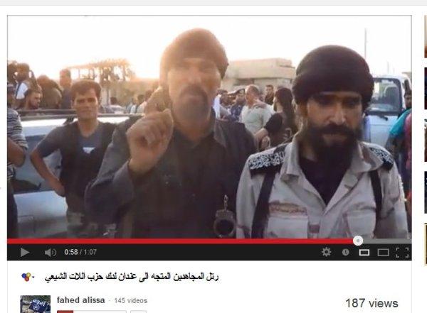 Terroristen welche von der washington Post als große Befreier angekündigt werden obwohl sie mehrfach von einem Genozid sprachen auf ihren facebook-seiten und auch in videos.
