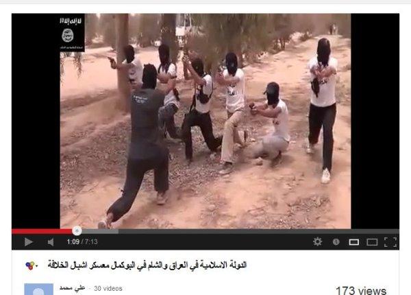Ausbildung zum Terroristen, die zukünftigen Todesschwadrone