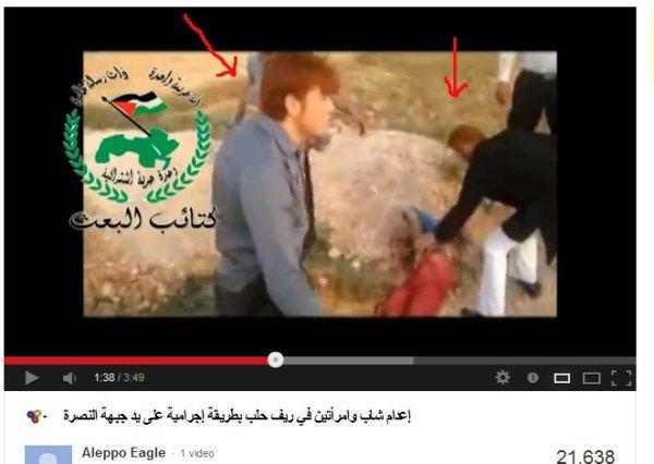 Zwei rothaarige Jabhat al Nusra, ein dandyhafter Kommandeur. Sie sind die Haupttäter