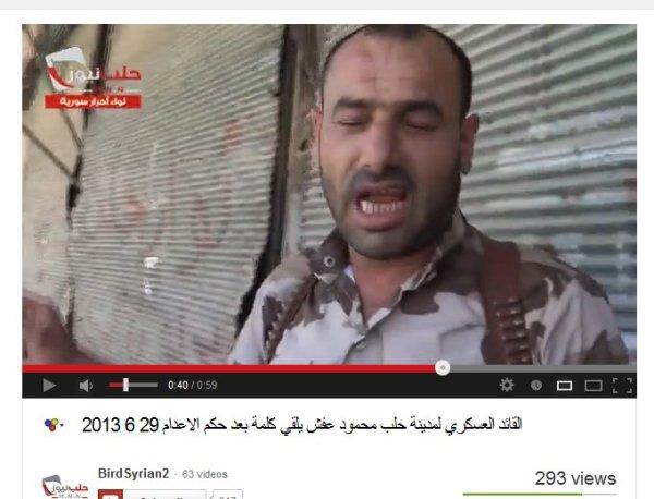 Kommandeur in Aleppo, Befehlshaber einer Todesschwadron