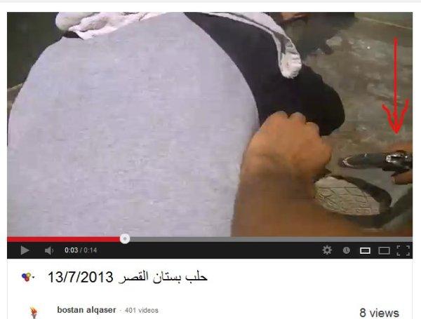 Islamist mit Pistole