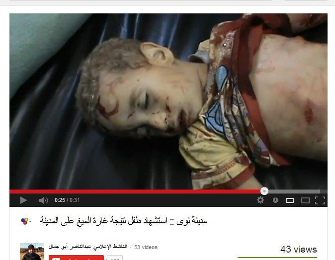 Klebt das blut von kindern nawa syrien syria keine mig