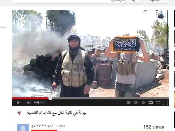 Das sind Obamas Kräfte in Syrien, hier bei Daraa