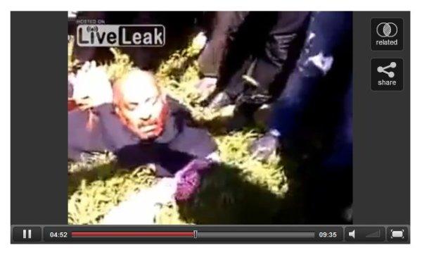"""Priester enthauptet durch USraels Proxy-Milizen. Sein Name war Francois Murad, ermordet vom """"demokratischen"""" Westen"""