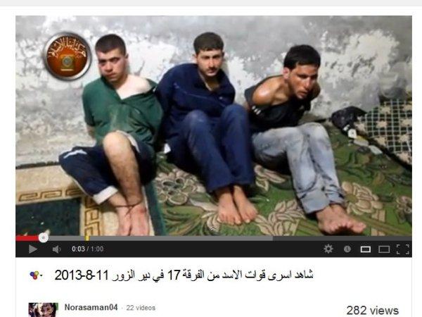 Folter und Mord bei den Deir Ezzor/Raqqa-Terroristen an der Tagessordnung.