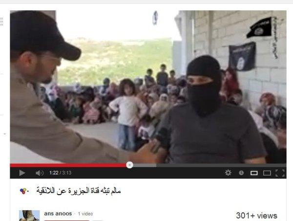 Frauen und Kinder in Al-Qaeda Terroristenhand, es sind Geiseln.