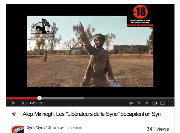 Des Westens Proxy-Milizen enthaupten Menschen, die Medien schweigen ode schreiben von netten jihadisten