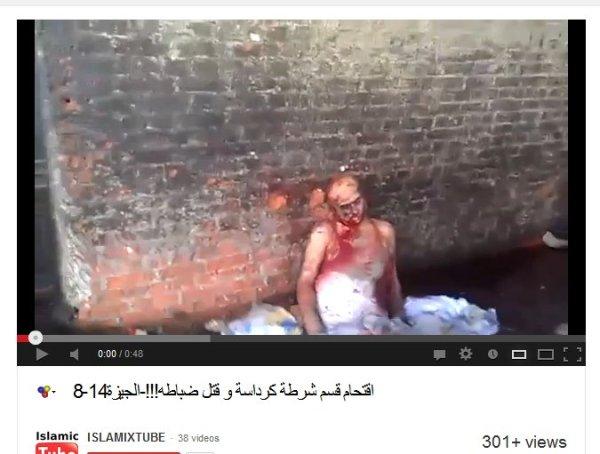 Einschußlöcher in der ziegelmauer, die Männer wurden gezielt ermordet