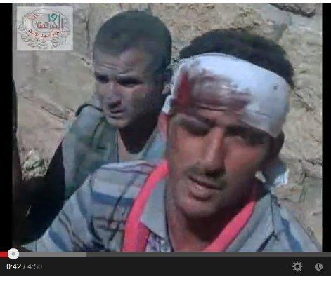 Verwundet weil er sein land verteidigte, ermordet weil westliche staaten und USrael die Souveränität anderer Staaten mißachtet