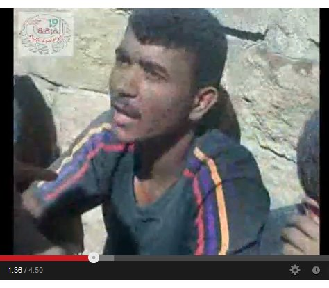 Auch er lag ermordet an der mauer, nur noch durch die Streifen an seiner Kleidung ekennbar. HRW hat sie in den Tod gelogen für Regime-Change