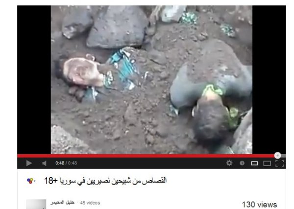 Das sind auch unsere Opfer, ermordet in Syrien.