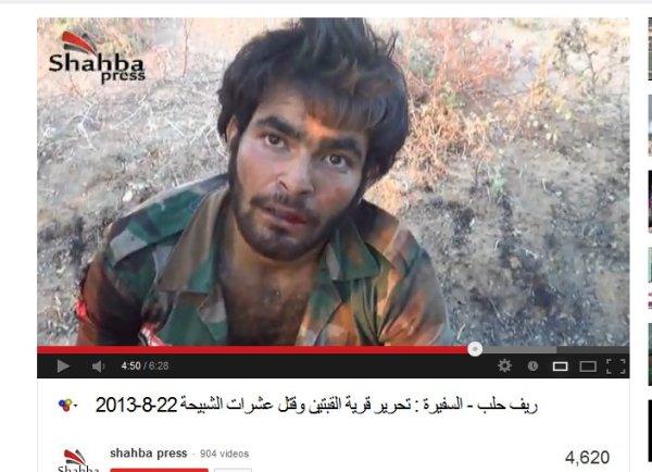 Ermordet bei zafira aleppo von den AKIDI-NATO-USrael-Bodenmilizen welche auch schon die Soldaten und Zivilisten von Khan al Assal ermordet haben