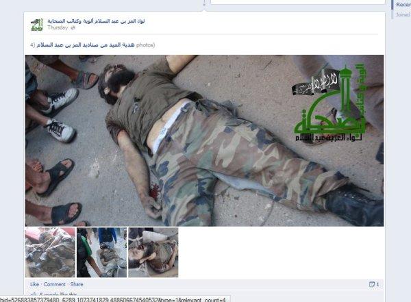 Kriegsverbrecher und Leichenschänder, Obamas billige Milizen in Syrien