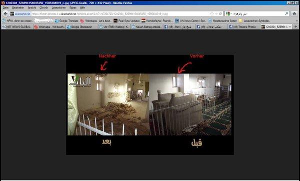 Vermutlich in der Nähe von bab al Hadid in Aleppo