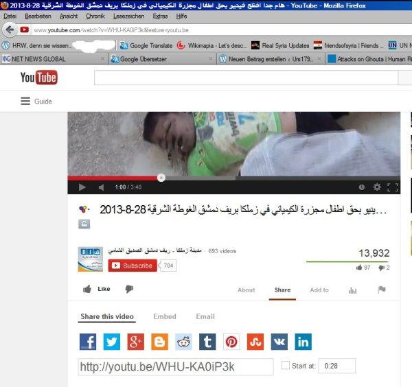 HRW Zeugen-Video, in der Fußnote 18 im HRW-Lügenbericht erwähnt.