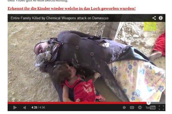 Das kleine Mädchen welches mit anderen Leichen in ein tiefes Loch geworfen wurde
