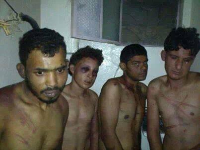 """Systematisch werden Gefangene gefoltert, genauso systematisch werden sie von den demokratischen """"Menschenrechtsmedien"""" verschwiegen"""