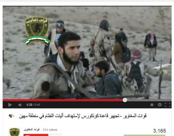 Ist das der Kriegsverbrecher Abdel Rasaq Tlass von den Farouk-Henker-Brigaden, zurückgekehrt aus Saudi Arabien?