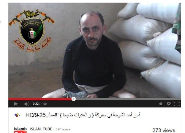 Mißhandelt, gedemütigt. er mußte sich als Schabiha bezeichen, eine Bezeichnung welche durch die unmenschlichen westlichen medien mitgeprägt wurde um alle regierungsloyalen Syrer zu dämonisieren und die terroristen und Kriminellen zu Heiligen zuerklären. Folterer und gemeine Mörder. Gesetzlose Mörderbanden