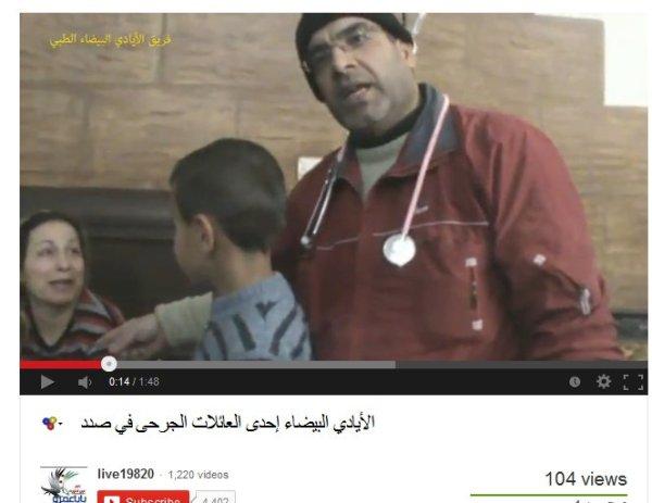 Kein Menschenfreund dieser Mediziner, er gehört zu den Terroristen und verkörpert deren Ziele