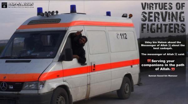 Die humanitären Spenden aus D kommen direkt bei den Terroritsn-Milizen an!