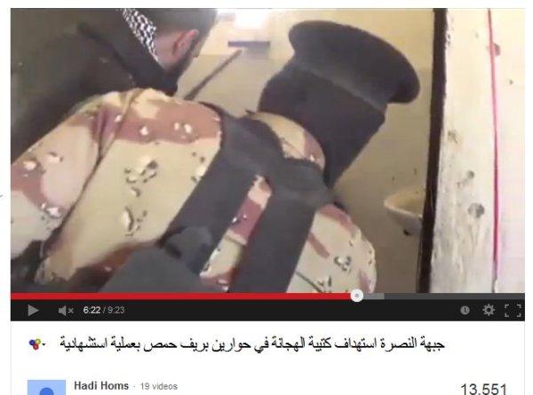 Hadi begutachtet mit der Nusra-Al-Qaeda-Front die systematisch begangenen Kriegsverbrechen. Unterstützt durch westliche NATO-Geheimdienste, CIA-BND, Mossad, DGSE, MI6