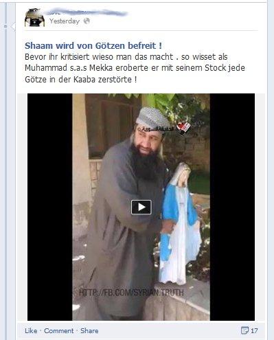 """Anmaßung, fanatische Ideologie, sie träumen bereits vom deutschen """"Emirat"""""""