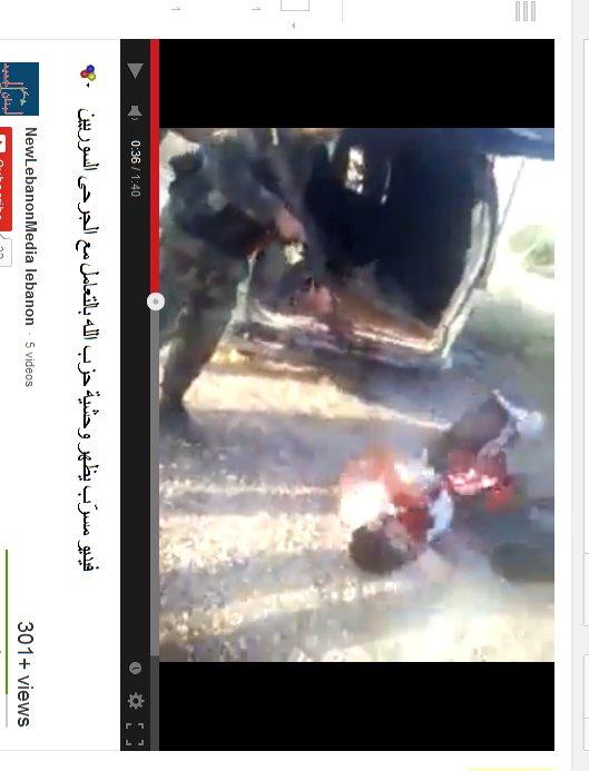 Aus dem Lieferwagen gezerrt und brutal zusammengeschossen