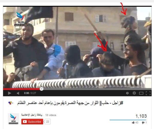 Zwei Kinder der Jabhat al Nusrah?