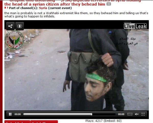 Kopf-ISIS