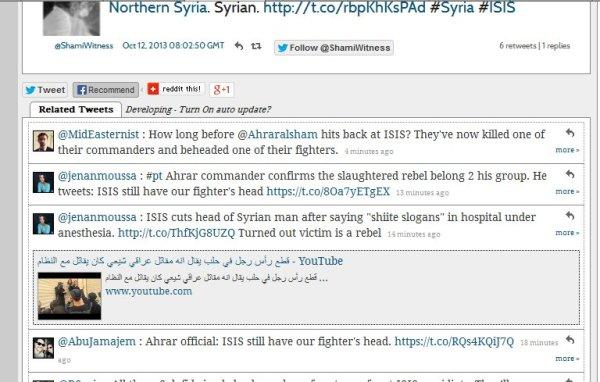 """Kopf wird von der Ahrar al Sham als """"Eigener"""" reklamiert"""