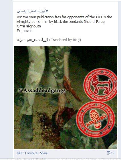 Die Homser Kannibalen-Brigade, so richtig durch die Propaganda der ARD und CNN promotet?