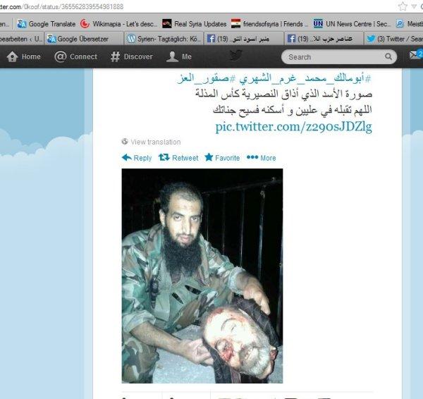 Ermordet von den Tagesschaurebellen, der ISIS und DD