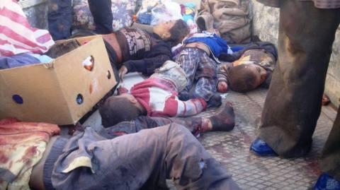 Mal als Massaker von Al-Nabek, dann wieder als Massaker von Yabroud bezeichnet