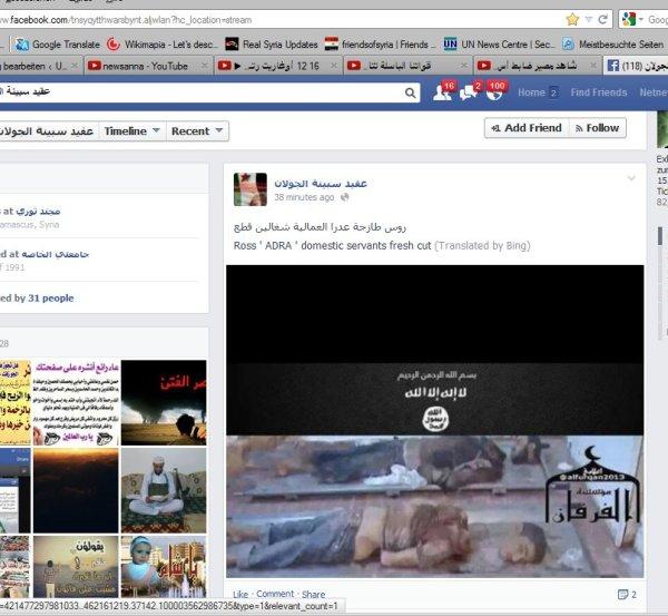 FSA-FB-ganz begeistert vom Massenmord in ADRA