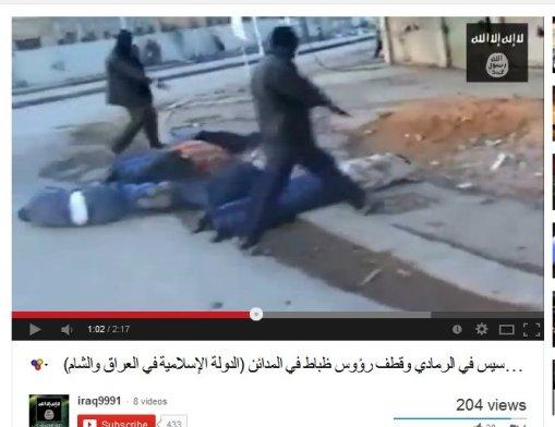 Todesschwadrone der ISIL, vermutlich im Irak