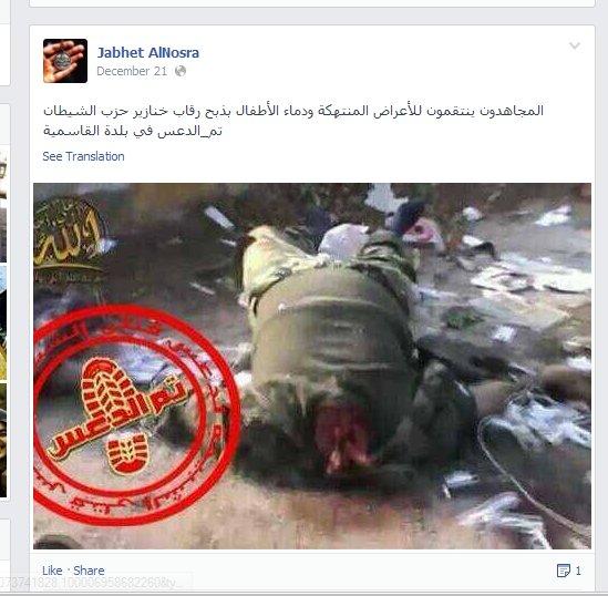 Die gleichen Mörderbanden wie im Yarmouk-Camp