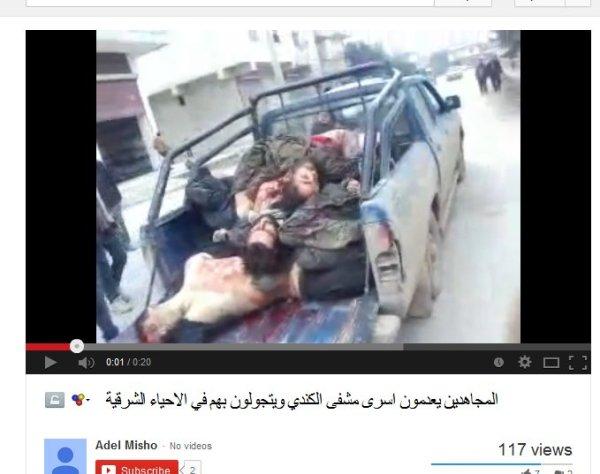 Die Gefangenen vom Kindi-Hospital wurden ebenfalls ermordet