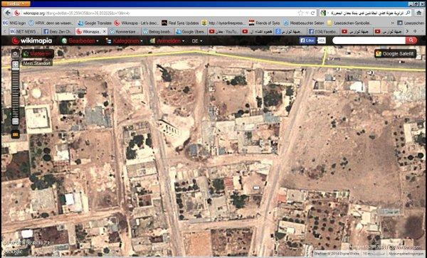 Siehe den Unterschied der Vergrößerungsmöglichkeiten. Die Terroristen arbeiten mit Google-Karten, dass haben sie unzählige Male gezeigt.