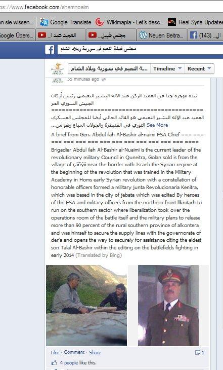 Erklärung von einem Rassiten und Terroristenunterstützer,Massenmörder-Kommandeur